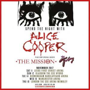 Alice Cooper and the mission