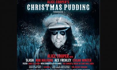 Alice Cooper announces charity action with Halford, Slash, Frehley and more
