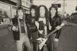 Anvil in the 80s
