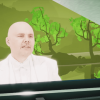 Billy Corgan's trippy video