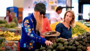 Billy Gibbons supermarket