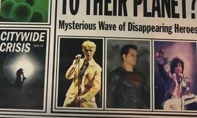 David Bowie and Prince on Justice League