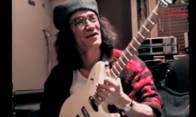 Eddie Van Halen wtih a telecaster