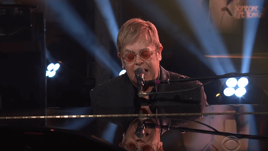 Elton John on Stephen Colbert
