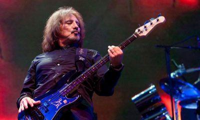 Geezer Butler on bass