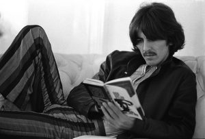 George Harrison reading