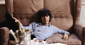 George Harrison sofa