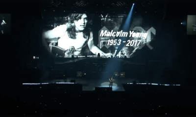 Guns N' Roses pays tribute to Malcolm Young