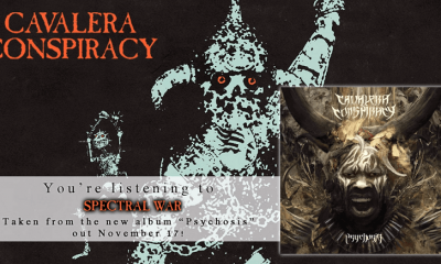 Hear new Cavalera Conspiracy's song Spectral War