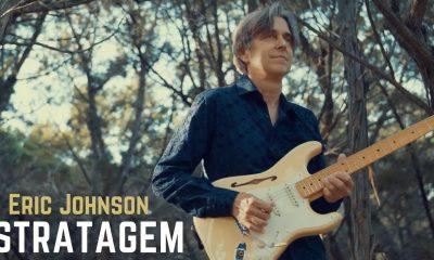 Hear new awesome instrumental Eric Johnson song Stratagem