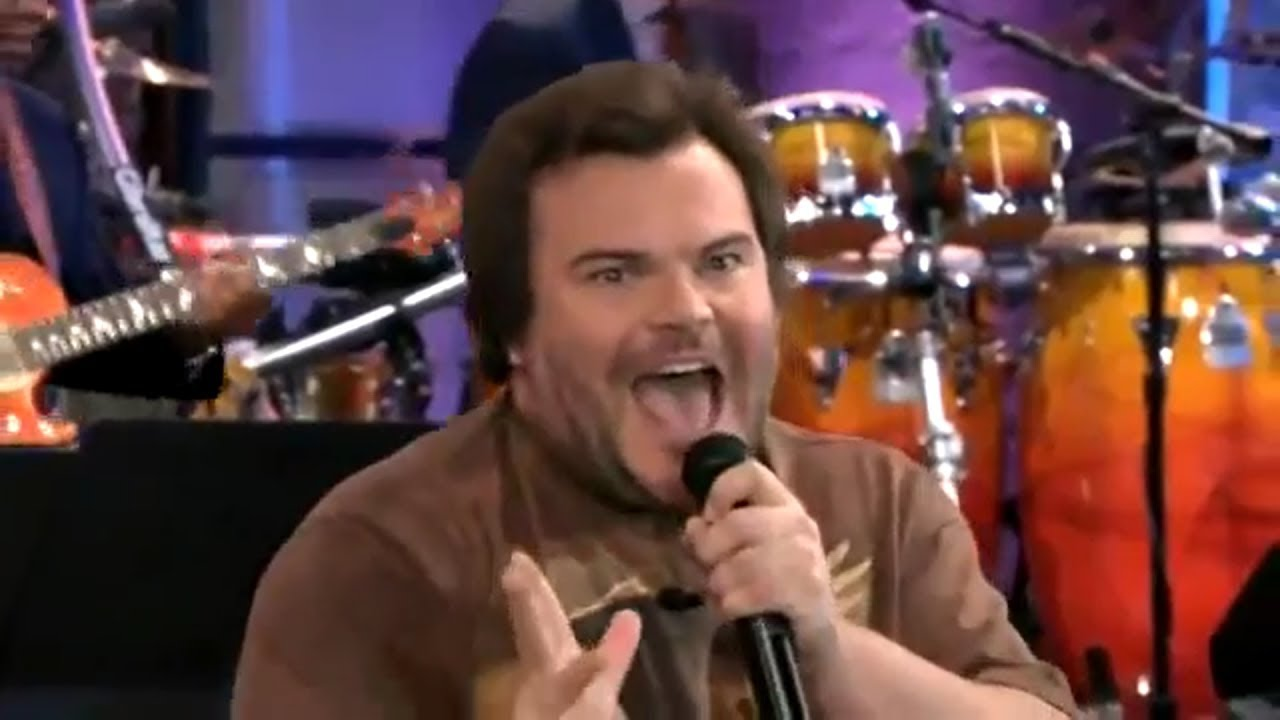 Jack Black singing Black Sabbath