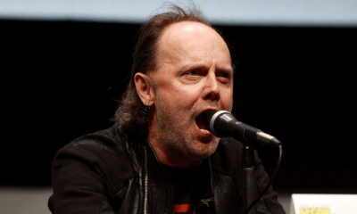 Lars Ulrich scream