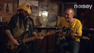 Lemmy Kilmister on guitar moves