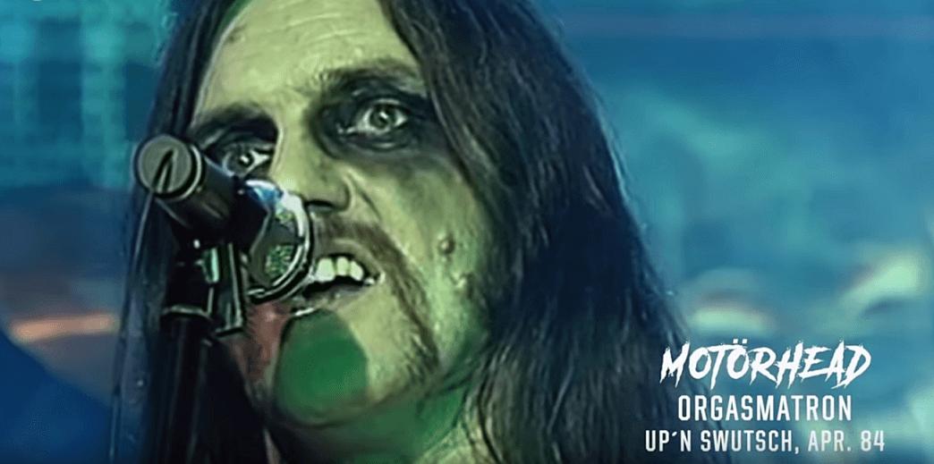 Lemmy Kilmister with make up