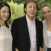 Paul McCartney and daughters