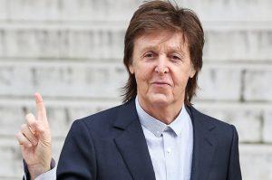 Paul McCartney finger
