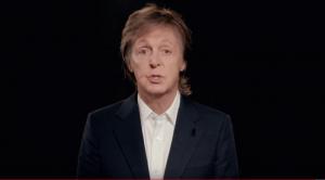 Paul McCartney in short film One Day a Week