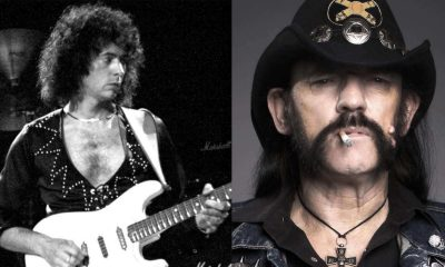 Ritchie Blackmore and Lemmy Kilmister