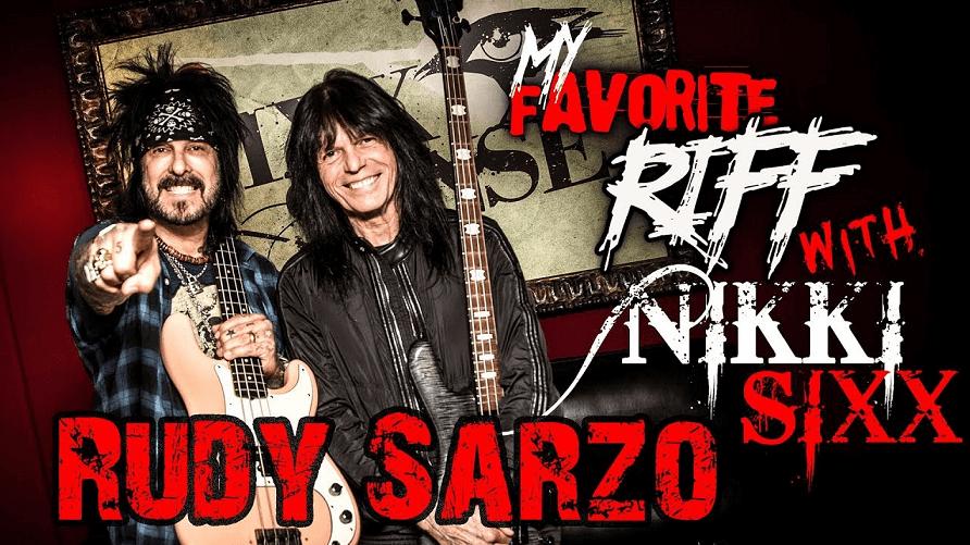 Rudy Sarzo and Nikki Sixx