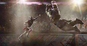Thor and Hulk Fighting