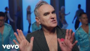 Watch new Morrissey official video for recent song