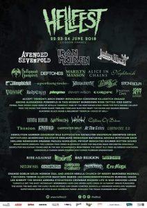 Hellfest 2018 line-up
