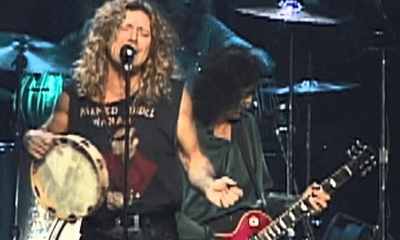 Back In Time: Jimmy Page & Robert Plant peforms Rock And Roll in 96 (1)
