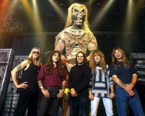 Blaze Bayley and Iron Maiden
