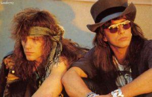 Bon Jovi and Richie Sambora 80s