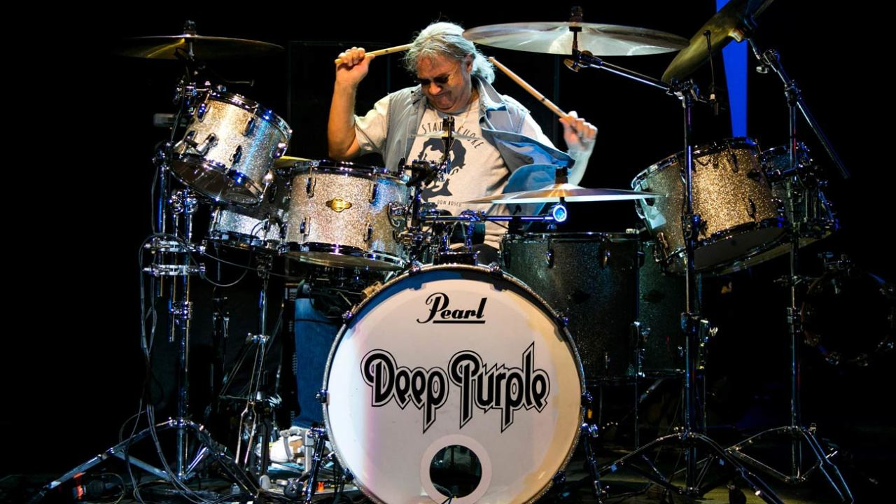 Hear Ian Paice's isolated drum track on Deep Purple's Highway Star