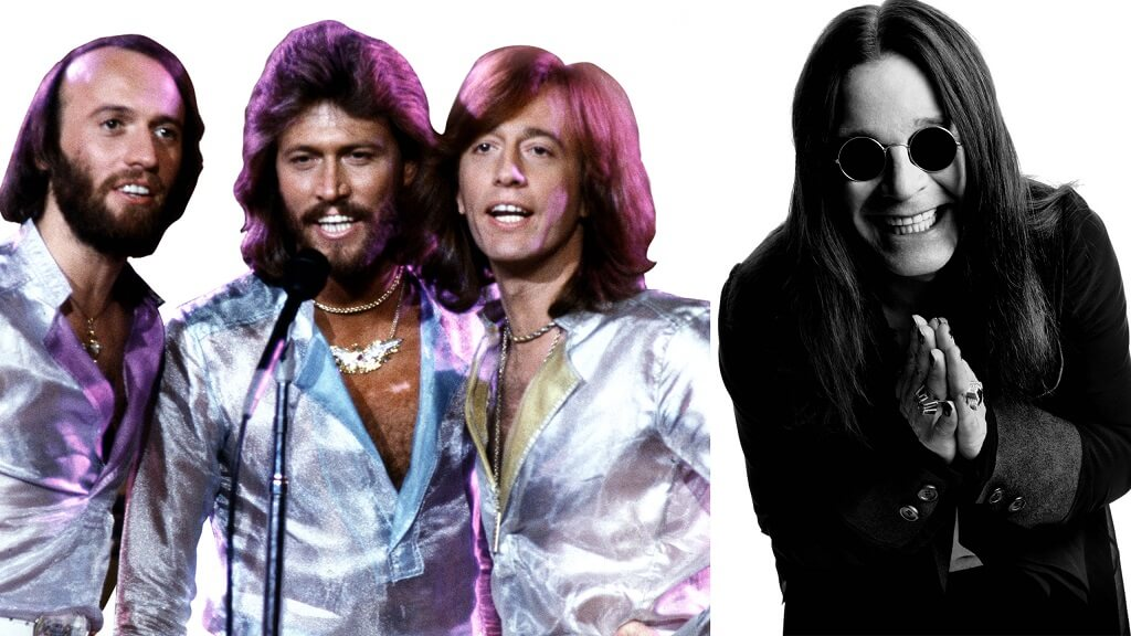 Hear Ozzy Osbourne and Dweezil Zappa's version for Bee Gees' Stayin Alive