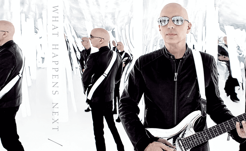 Hear new Joe Satriani's song What Happens Next