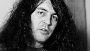 Ian Gillan black and white