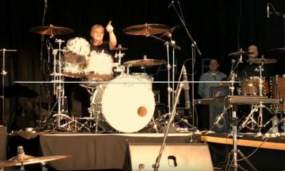 Ian Paice drum clinic