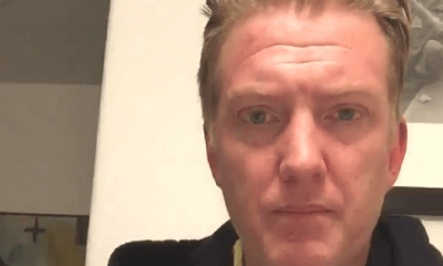 Josh Homme apologizing
