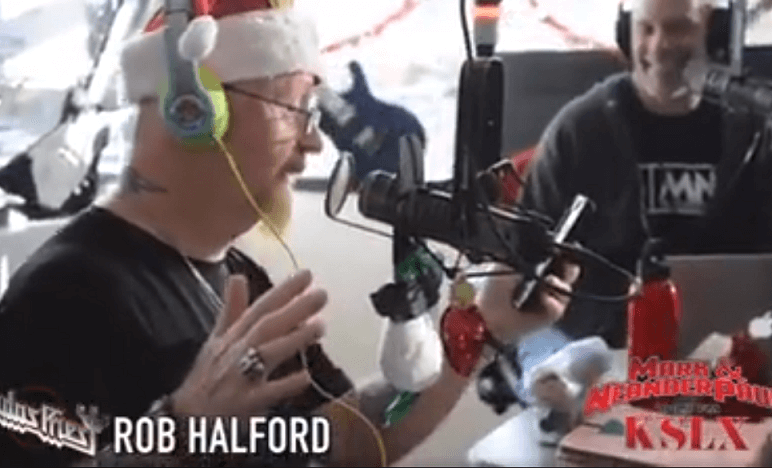 Rob Halford christmas