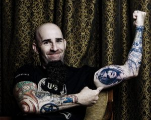 Scott Ian malcolm youngs tattoo