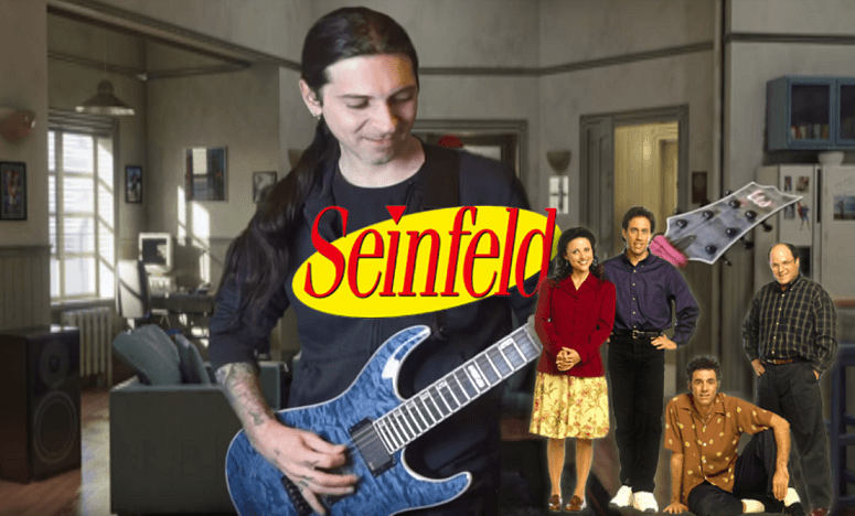 Seinfeld theme heavy metal