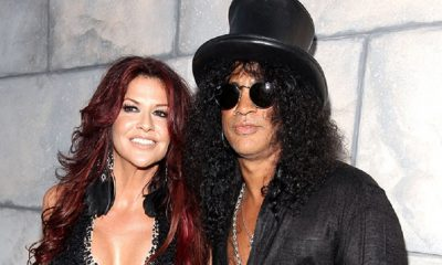 Slash and his girlfriend