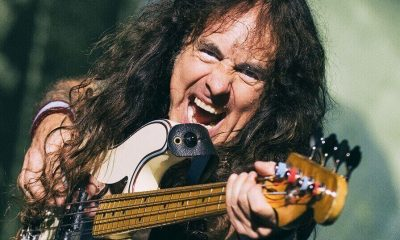 Steve Harris and the bass