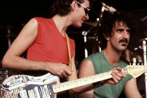 Steve Vai and Frank Zappa playing