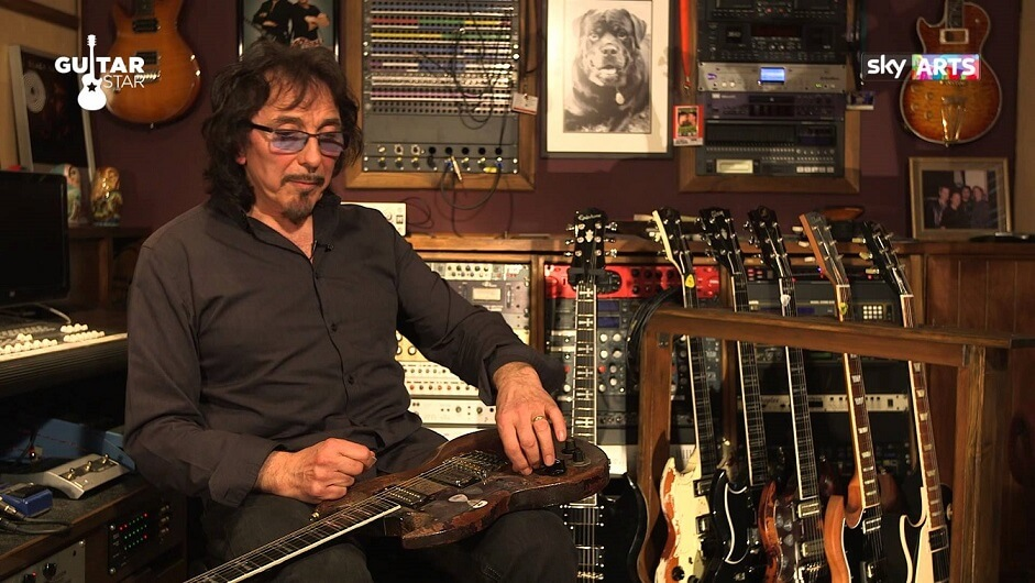 """Tony Iommi says that """"the Last thing i want to do is pick up a guitar"""""""