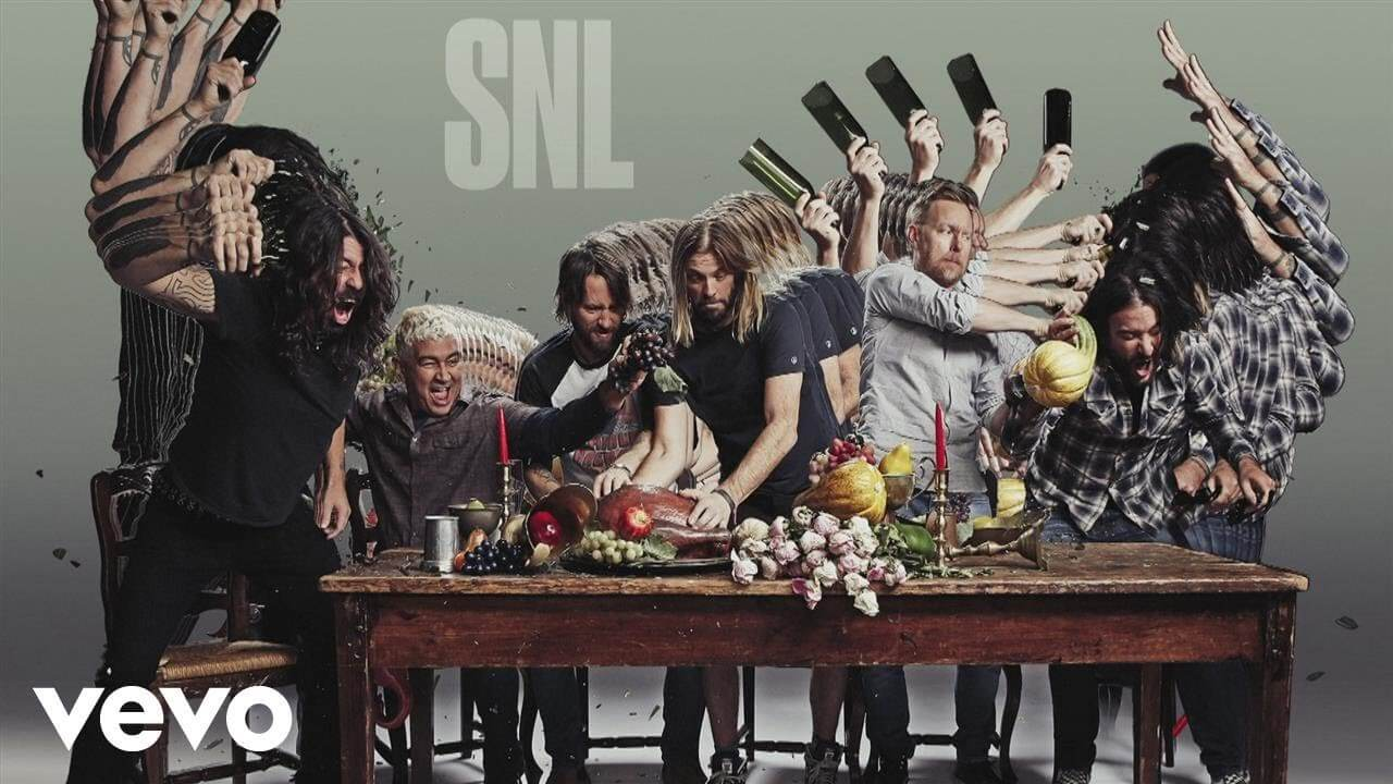 "Watch Foo Fighters performing ""The Sky Is a Neighborhood"" on SNL"