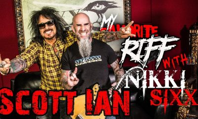 Watch Scott Ian on Nikki Sixx's My Favorite Riff