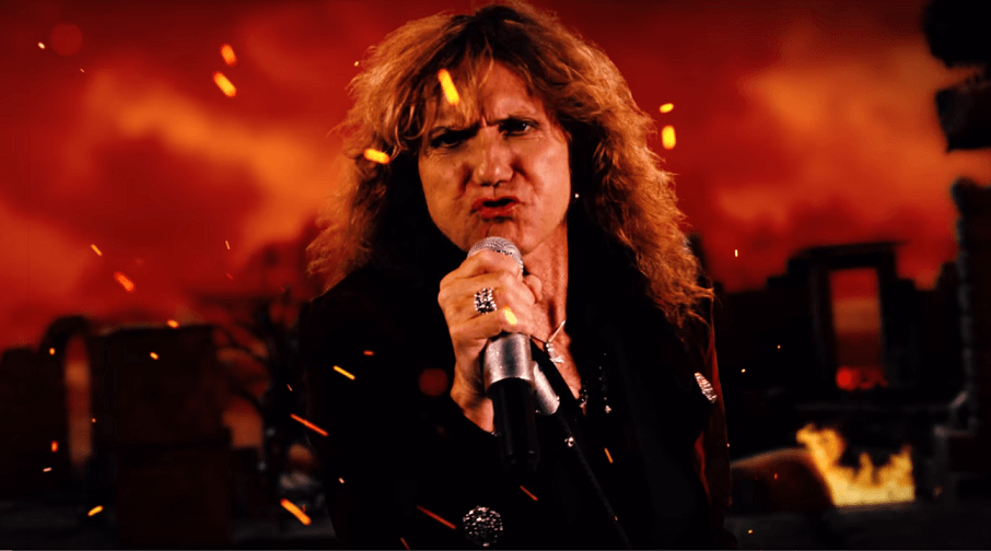 Watch Whitesnake's official video for Deep Purple's Burn cover