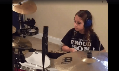 Watch amazing 11 year-old kid playing Dream Theater on drums