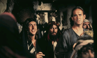 When George Harrison financed the Monty Python's movie Life Of Brian