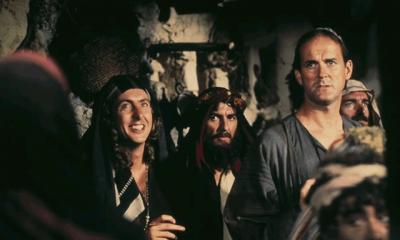 When George Harrison financed the Monty Python's movie Life Of Brian