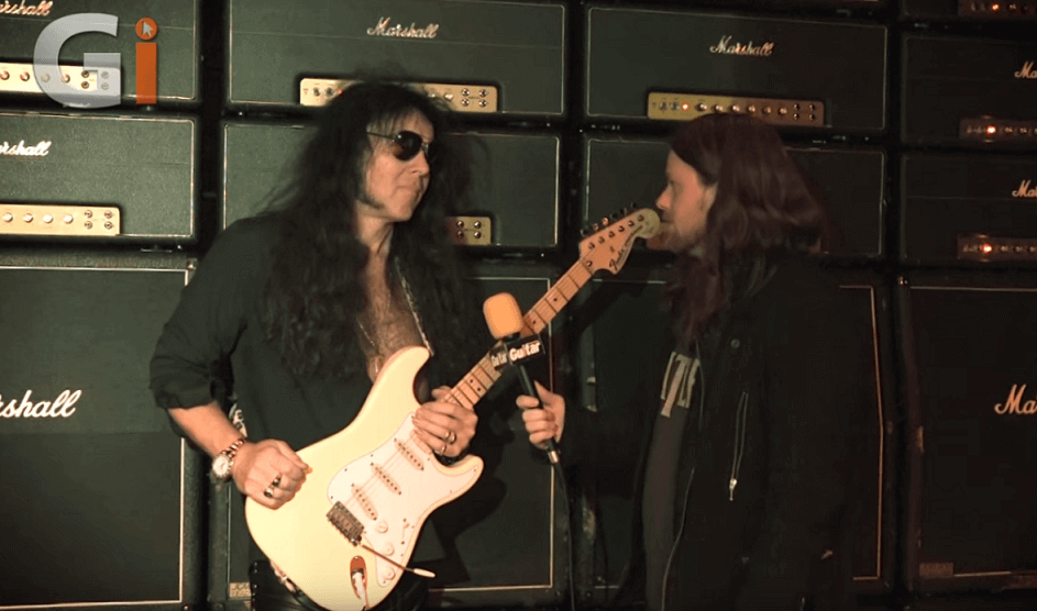 Watch Yngwie Malmsteen talking about his new tour