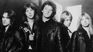 iron Maiden with Paul dianno